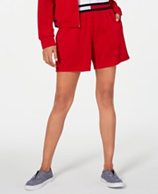 Tommy Hilfiger Pull-On Terry Shorts, Created for Macy's