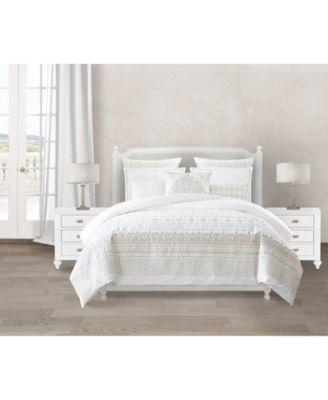 Lacourte Estelle Cotton 8-Pc. Queen Comforter Set