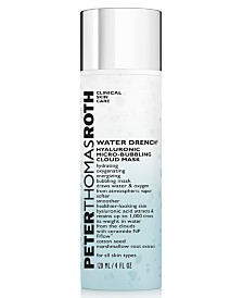 Peter Thomas Roth Water Drench Hyaluronic Micro-Bubbling Cloud Mask, 4-oz.
