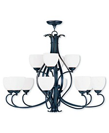 CLOSEOUT!   Brookside 12-Light Chandelier