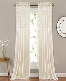 "Bayview 54"" x 84"" Pintuck Curtain Set"