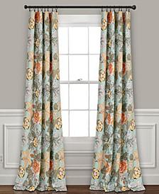 "Sydney Floral 52"" x 84"" Curtain Set"