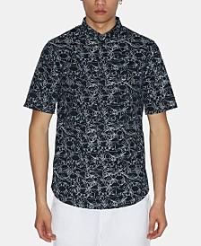 A|X Armani Exchange Men's Sea Creature Graphic Shirt