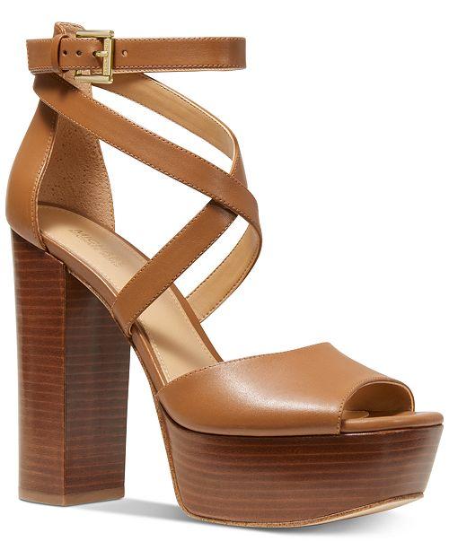 28a6c36d42b4b Michael Kors Burke Platform Sandals & Reviews - Sandals & Flip ...