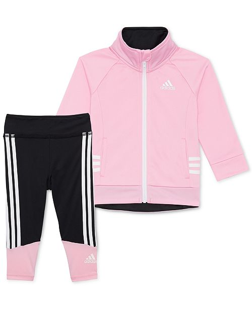 17f705de ... Leggings Set; adidas Toddler Girls 2-Pc. Running Jacket & Leggings ...