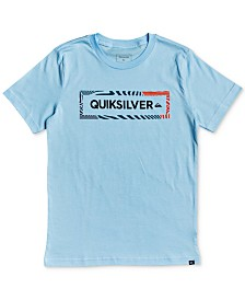 Quiksilver Big Boys Logo-Print Cotton T-Shirt