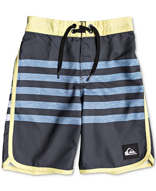 bd91e72636 Toddler Boys Striped Swim Trunks