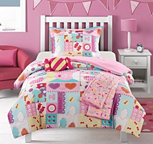 Candy 5 Piece Full Comforter Set