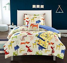 Chic Home Pet Land 5 Piece Full Comforter Set