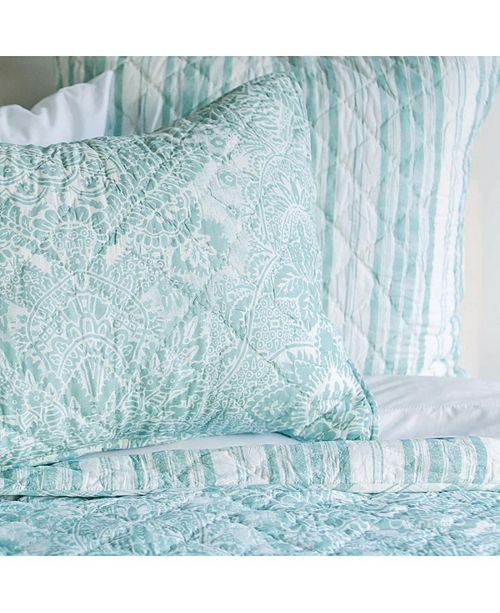 C&F Home Liana Sea Glass King Quilt