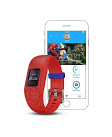 Garmin Vivofit jr. 2 Marvel Spider-Man Kids Activity Tracker Red