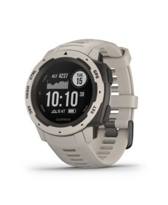 Garmin Instinct Rugged GPS Watch in Tundra