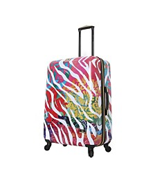 "Halina Bee Sturgis Serengeti Reflections 28"" Hard Side Spinner Suitcase"
