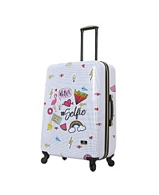 "Halina Nikki Chalinau Whalinaatever 28"" Hard Side Spinner Suitcase"
