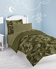 Dream Factory Geo Camo Twin Comforter Set