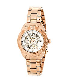 Godiva Automatic Rose Gold Stainless Steel Watch 38mm