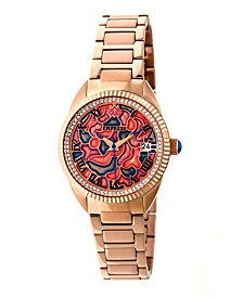 Helena Automatic Rose Gold Stainless Steel Watch 36mm