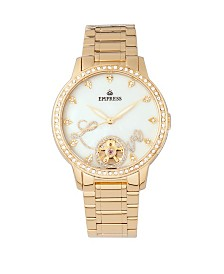 Empress Quinn Automatic Gold Stainless Steel Watch 41mm