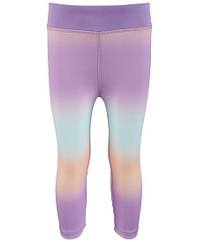 Ideology Little Girls Ombré Capri Leggings, Created for Macy's
