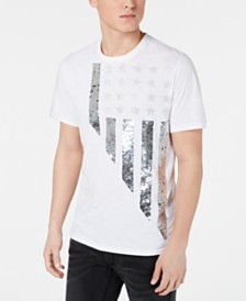 I.N.C. Men's Stars & Stripes Graphic T-Shirt, Created for Macy's