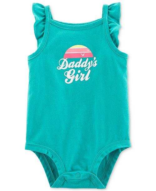 Carter's Baby Girls Daddy's Girl Cotton Bodysuit
