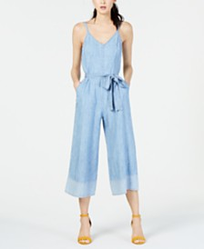 Trina Turk Cropped Sleeveless Jumpsuit