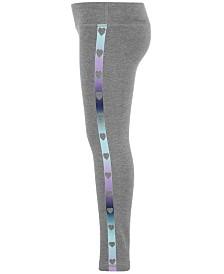 Ideology Little Girls Heart-Print Leggings, Created for Macy's