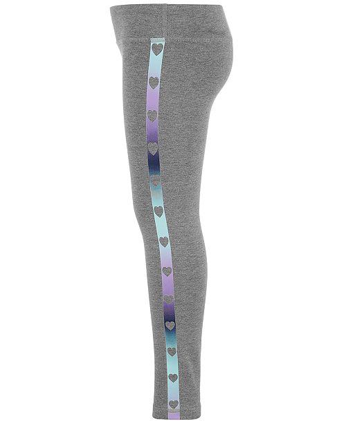 Ideology Toddler Girls Heart-Print Leggings, Created for Macy's