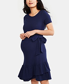 Maternity Ruffled Dress