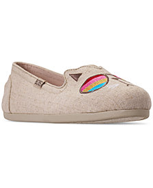 Skechers Women's BOBS for Dogs and Cats BOBS Plush - Kool Kat Slip-On Casual Sneakers from Finish Line