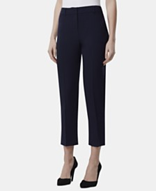 Tahari ASL Extend-Tab Ankle Pants