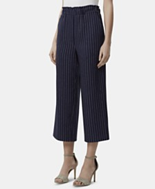 Tahari ASL Striped Pull-On Pants