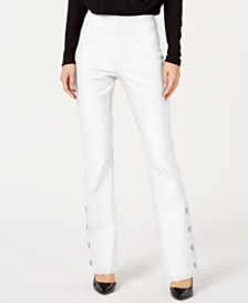 I.N.C. Embellished Bootcut Pants, Created for Macy's