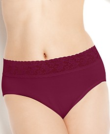 Hanky Panky Organic Cotton Plus Size Conscience French Brief 892461X