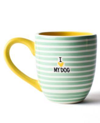 Mint I Love My Dog Mug