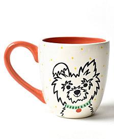Coton Colors Pet Fluffy Dog Portrait Mug
