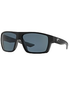 Costa Del Mar Polarized Sunglasses, BLOKE 61