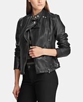 Women Leather Jackets  Shop Women Leather Jackets - Macy s bf5e6f7cb1a2