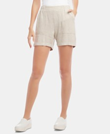 Karen Kane Pull-On Patch-Pocket Shorts
