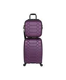 Diamond 2-PC Carry-On Luggage Set
