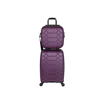Aimee Kestenberg Diamond 2-Pieces Carry-On Luggage Set