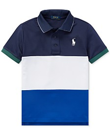 Polo Ralph Lauren Little Boys Tech Mesh Polo Shirt