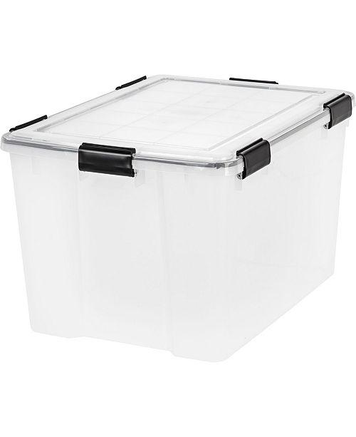IRIS USA Iris 74 Quart Weather tight Storage Box