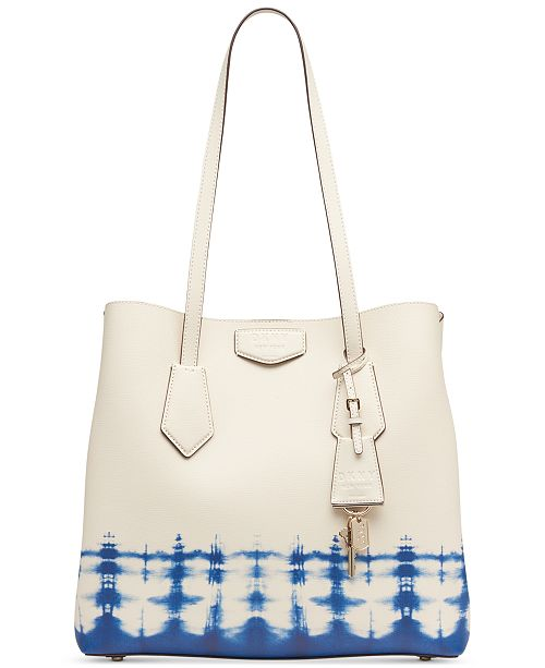 DKNY Sullivan Leather Tie-Dyed North-South Tote, Created for Macy's