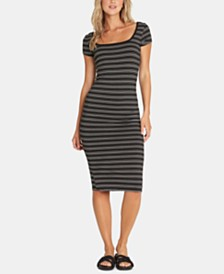 Billabong Juniors' Day Night Striped Midi Dress