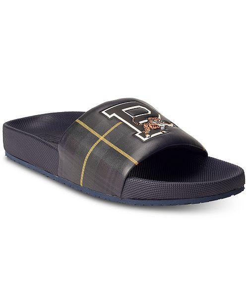 Polo Ralph Lauren Men's Cayson Tiger Slide Sandals