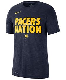 Nike Men's Indiana Pacers Team Essential Local Slogan Slub T-Shirt