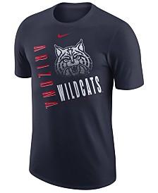 Nike Men's Arizona Wildcats Dri-Fit Cotton Just Do It T-Shirt
