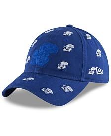 New Era Women's Kansas Jayhawks Logo Scatter Cap