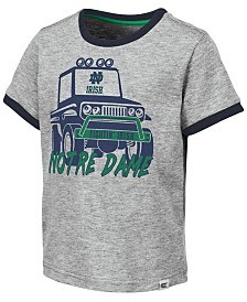 Colosseum Toddlers Notre Dame Fighting Irish Monster Truck T-Shirt